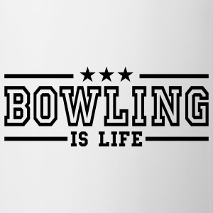 bowling is life deluxe Tazas - Taza