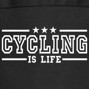 cycling is life deluxe Fartuchy - Fartuch kuchenny