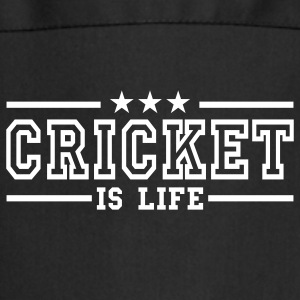cricket is life deluxe Forklæder - Forklæde
