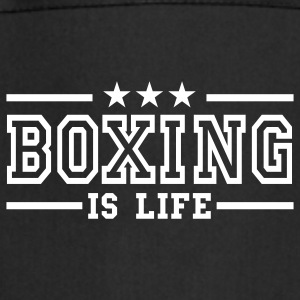 boxing is life deluxe  Aprons - Cooking Apron
