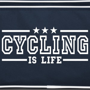 cycling is life deluxe Sacs - Sac Retro