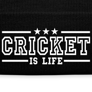 cricket is life deluxe Caps & Hats - Winter Hat