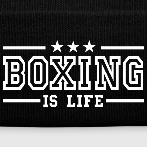 boxing is life deluxe Caps & Hats - Winter Hat