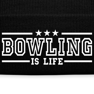 bowling is life deluxe Caps & Hats - Winter Hat