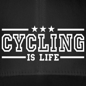 cycling is life deluxe Czapki  - Czapka z daszkiem flexfit