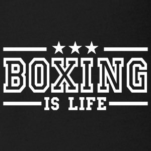 boxing is life deluxe Babybody - Økologisk kortermet baby-body