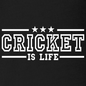 cricket is life deluxe Baby Body - Baby Bio-Kurzarm-Body