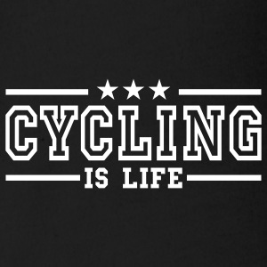 cycling is life deluxe Babybody - Økologisk kortermet baby-body