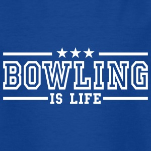 bowling is life deluxe Kids' Shirts - Teenage T-shirt