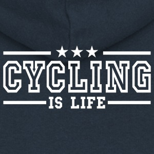 cycling is life deluxe Coats & Jackets - Women's Premium Hooded Jacket