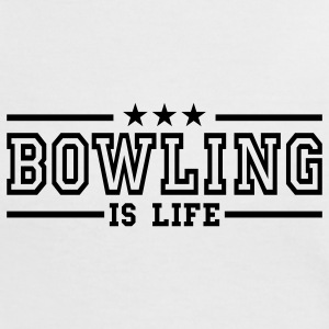 bowling is life deluxe T-Shirts - Frauen Kontrast-T-Shirt
