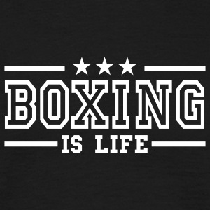 boxing is life deluxe T-shirts - T-shirt Homme