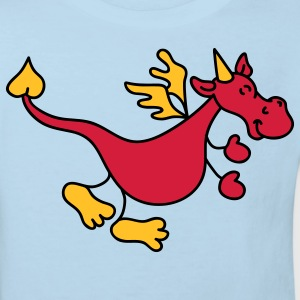 Cute red dragon Kids' Shirts - Kids' Organic T-shirt