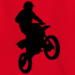 motorbike_stunt_b_1c T-shirts - Teenager-T-shirt