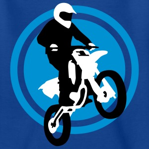 motorbike_stunt_e_3c T-shirts - Teenager-T-shirt