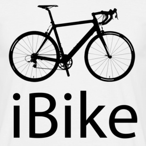 iBike funny cycling T Shirt - Men's T-Shirt