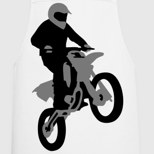 motorbike_stunt_a_2c  Aprons - Cooking Apron