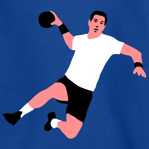 handballer_a_3c T-shirts - Teenager-T-shirt