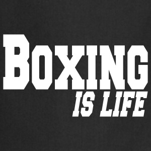 boxing is life  Aprons - Cooking Apron