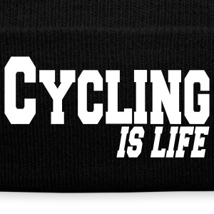 cycling is life Caps & Hats - Winter Hat