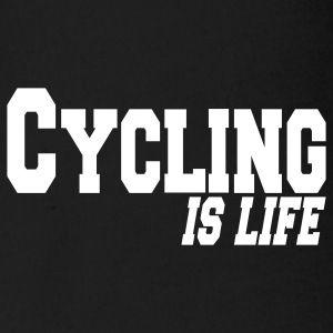 cycling is life Baby Bodysuits - Organic Short-sleeved Baby Bodysuit