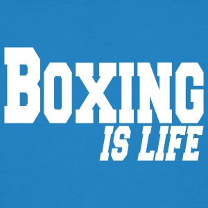 boxing is life T-shirts - T-shirt bio Homme