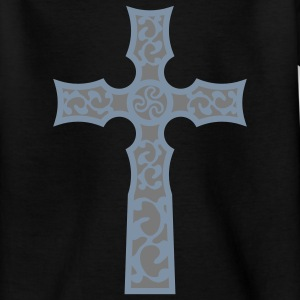 tribal_cross_a_2c T-shirts - Teenager-T-shirt