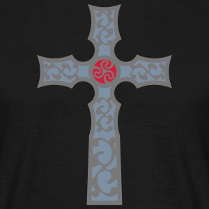 tribal_cross_a_3c Camisetas - Camiseta hombre