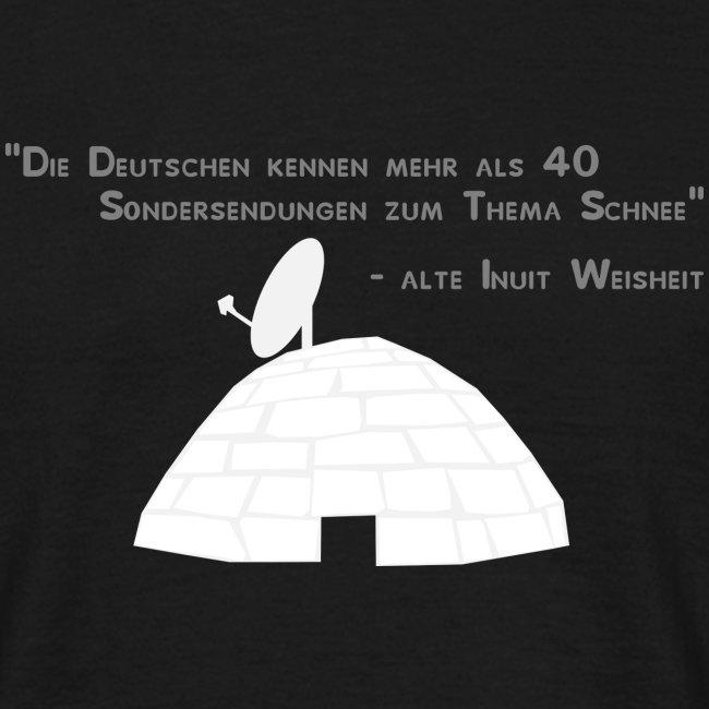 Schneechaos classic shirt DD