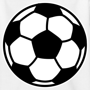 soccer football ball Kinder T-Shirts - Teenager T-Shirt
