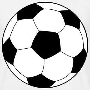 soccer football ball T-skjorter - T-skjorte for menn