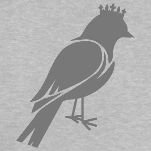 Bird silhouette with crown Baby Shirts  - Baby T-Shirt
