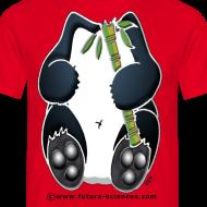 Motif ~ Panda homme rouge