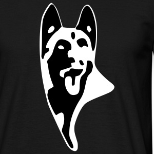 Malinois log T-shirts - T-shirt Homme
