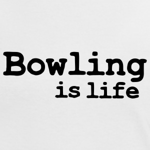 bowling is life T-Shirts - Women's Ringer T-Shirt