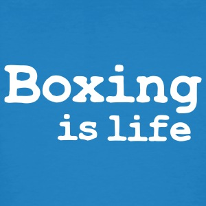 boxing is life T-Shirts - Männer Bio-T-Shirt