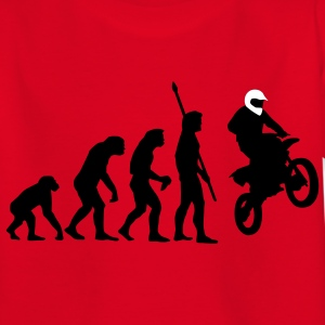 evolution_motorbike_stunt_a_2c Kids' Shirts - Teenage T-shirt