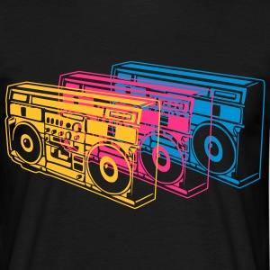 Black Radio T-Shirts - Men's T-Shirt