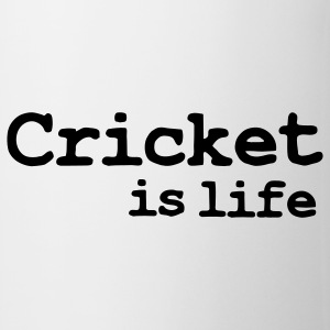 cricket is life Krus - Kop/krus