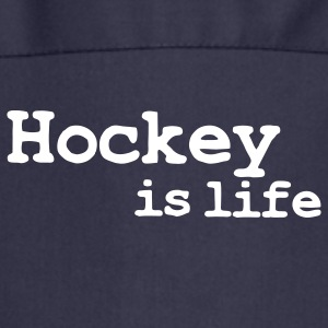 hockey is life Delantales - Delantal de cocina