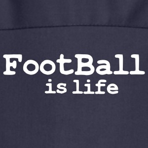 football is life  Aprons - Cooking Apron