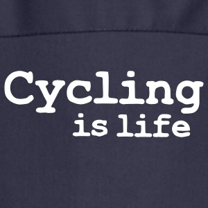cycling is life Grembiuli - Grembiule da cucina