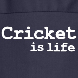 cricket is life Forklæder - Forklæde