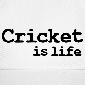 cricket is life Caps & Hats - Baseball Cap