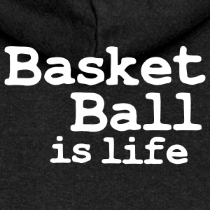 basketball is life Coats & Jackets - Women's Premium Hooded Jacket