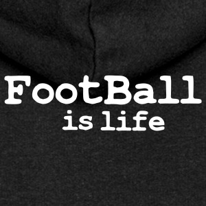 football is life Coats & Jackets - Women's Premium Hooded Jacket
