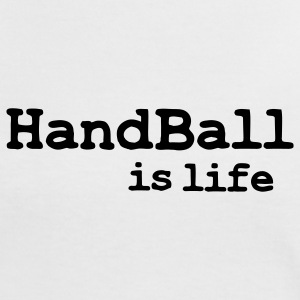 handball is life T-shirts - Vrouwen contrastshirt