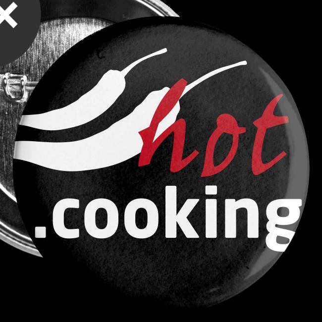 hot.cooking | button (32 mm) | für scharfe köche