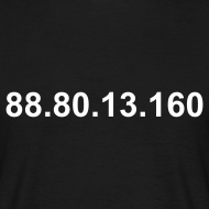 Ontwerp ~ IP 88.80.13.160 (witte opdruk)