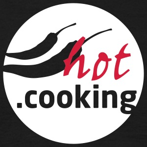 hot.cooking // t.shirt (frontprint)  - Männer T-Shirt